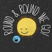 Round We Go Hallmark ecard